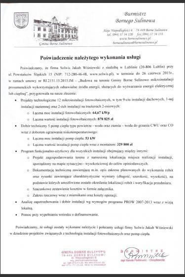 Dokumentacja projektowa, dotacja z programu PROW 3.2.1