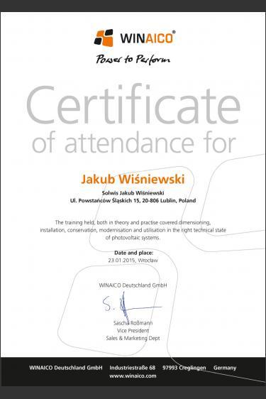 Szkolenie u producenta modułów fotowoltaicznych - Winaico